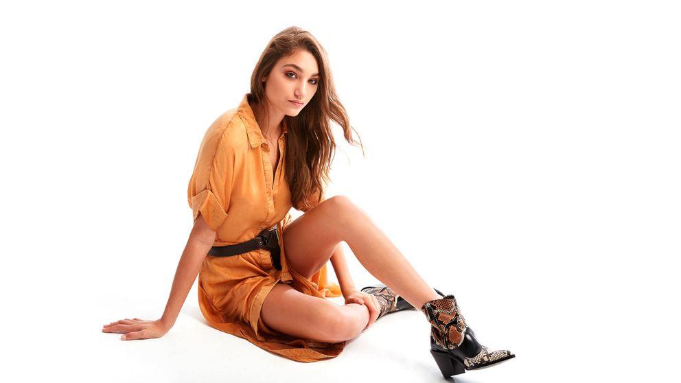 Un dúo infalible: vestido + botas