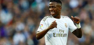 Post de El lío de Vinicius en el gol del Real Madrid y el penalti no señalado a Morata en el derbi