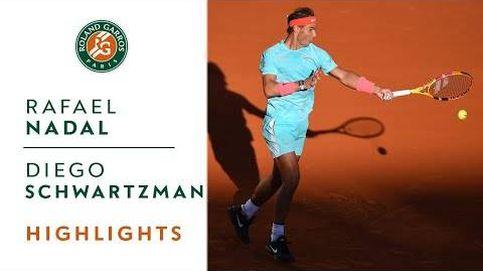 El vídeo de la semifinal de Rafa Nadal en Roland Garros