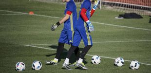 Post de Iker Casillas pide paso a Luis Enrique (mientras De Gea se lame las heridas)