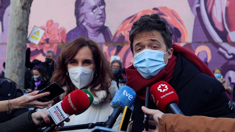 Mónica García e Íñigo Errejón en una imagen de archivo. (EFE)