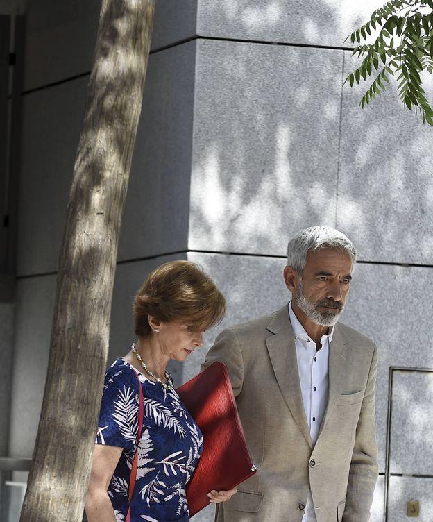 Foto: Imanol Arias a su salida de la Audiencia Nacional (Gtres)
