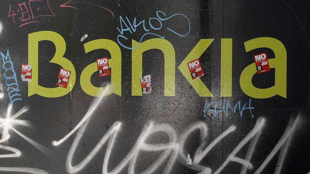 Foto: El logo de Bankia en una pared en Madrid. (Reuters)