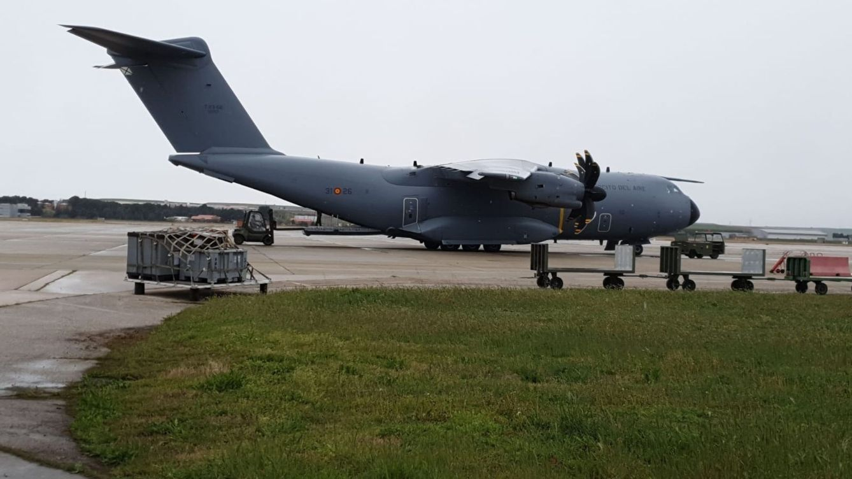 Dos aviones del Ejército del Aire traerán a España respiradores de Alemania
