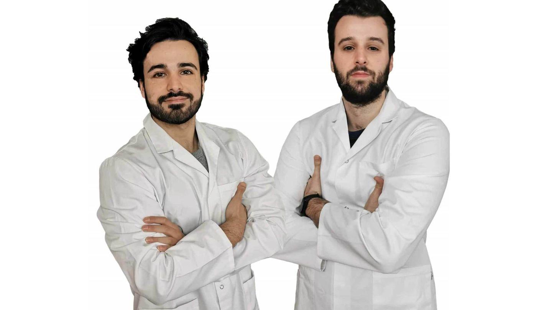 Los autores Carlos Rodríguez y Fernando Carrasco.