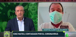 Post de Kike Mateu, colaborador de Josep Pedrerol, contagiado por el coronavirus