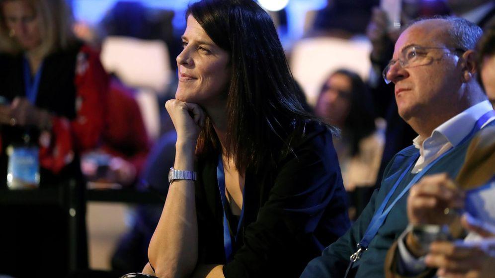 Foto: Ruth Beitia en la Convención Nacional del PP. (EFE)