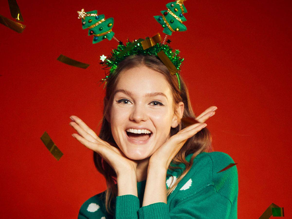 Foto: Complementos navideños de Lefties. (Cortesía)