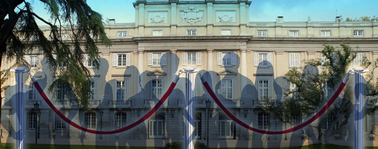 Foto: Fachada del Palacio de Liria (Montaje de Vanitatis)