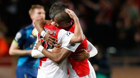 El Arsenal rozó un milagro, pero fue el Mónaco el que dio la sorpresa