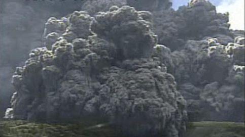 El momento exacto en el que ha entrado en erupción el volcán japonés Shindake