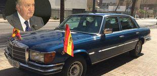 Post de 39.500 euros por el Mercedes del rey Juan Carlos