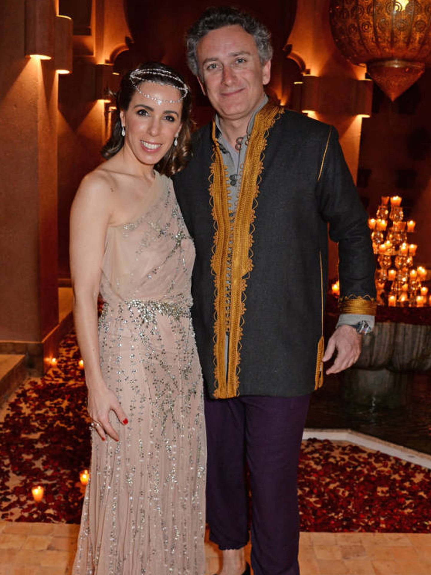 La pasión marroquí de Ana Aznar y Alejandro Agag. (Getty)