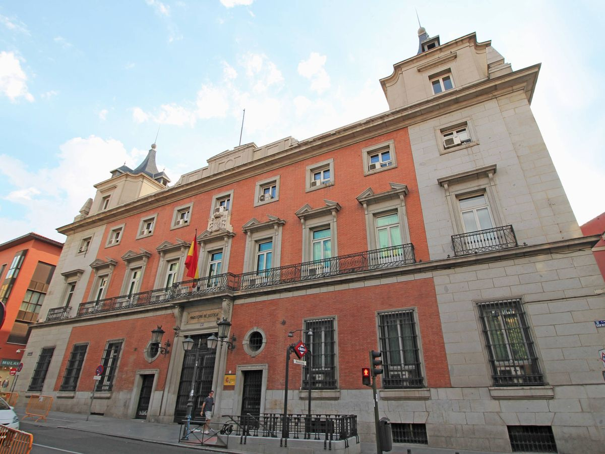 Foto: Sede del Ministerio de Justicia, en Madrid.