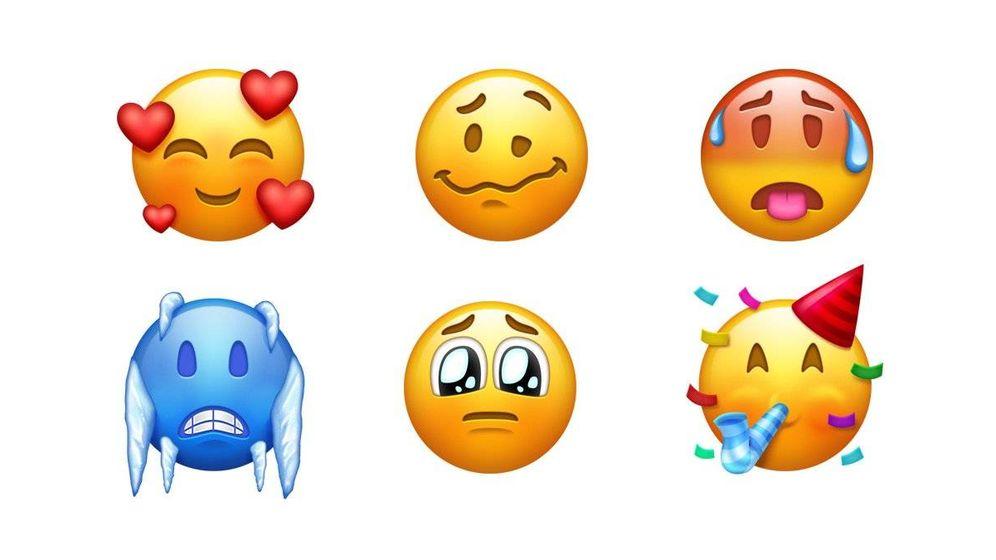 Foto: Algunos de los nuevos 'emojis'