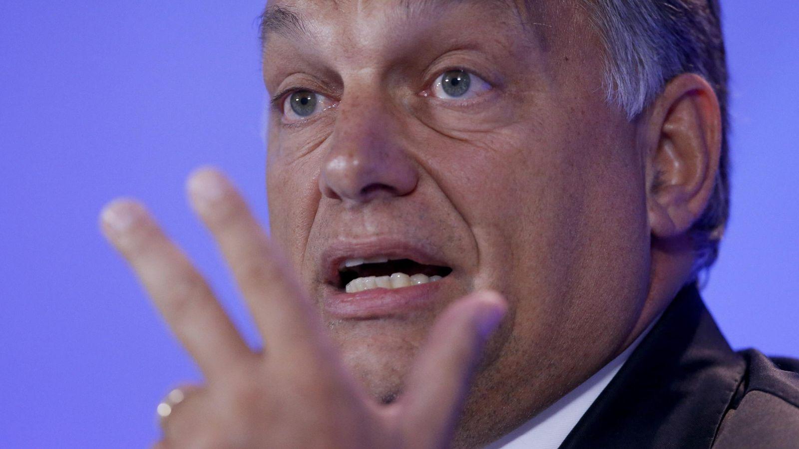 Foto: Viktor Orbán, primer ministro de Hungría (EFE)