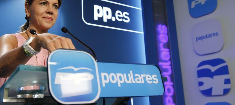 Foto: María Dolores de Cospedal. (EFE)