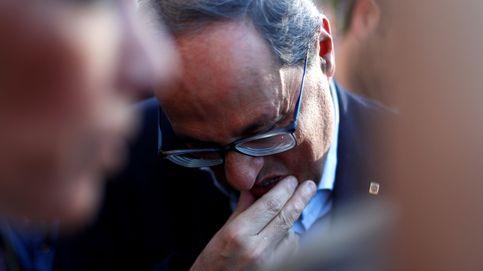 Torra se inhibe con los lazos y pone en un compromiso a Mossos y a Puigneró