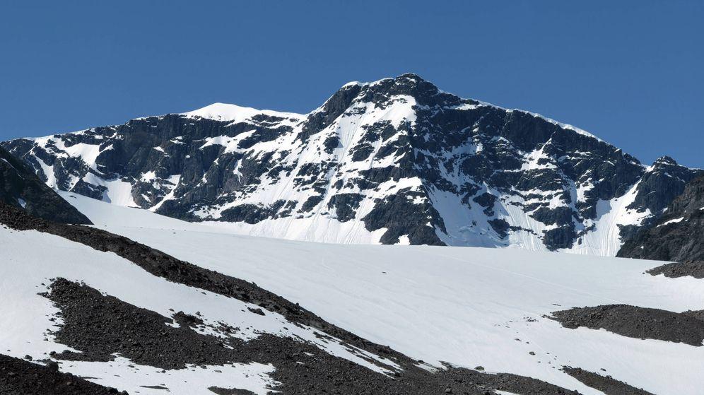Foto: El monte Kebnekaise que se hunde por culpa del cambio climático. (Foto: Wikimedia)