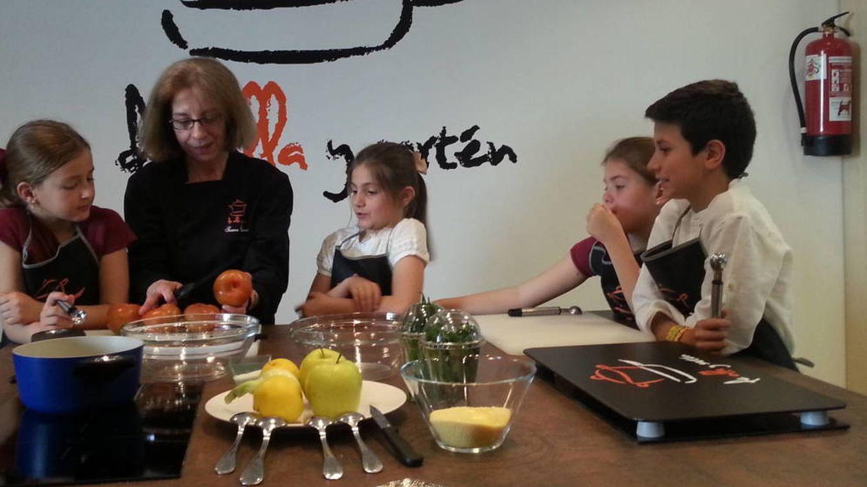 Taller de cocina infantil: donde los niños juegan mientras aprenden a alimentarse