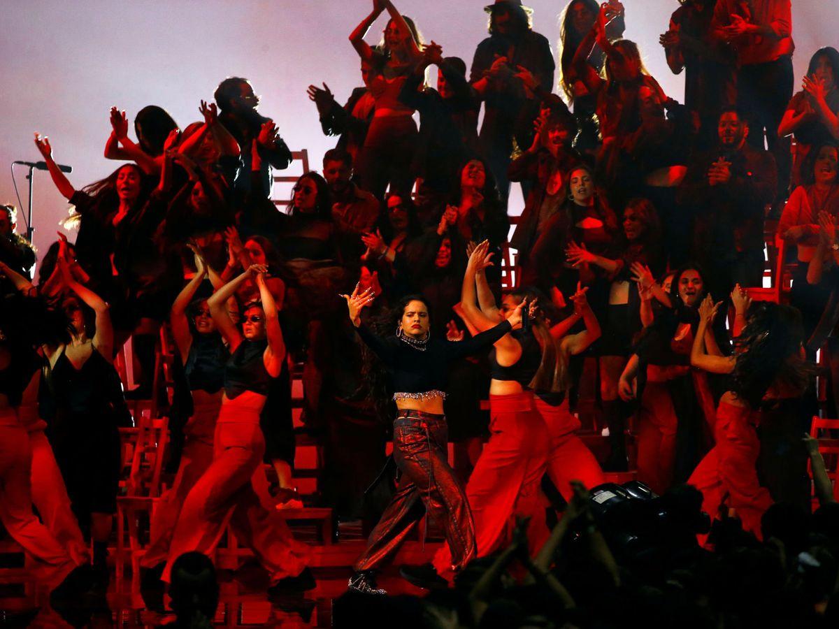 Foto: La actuación de Rosalía en los MTV EMA 2019. (Reuters)