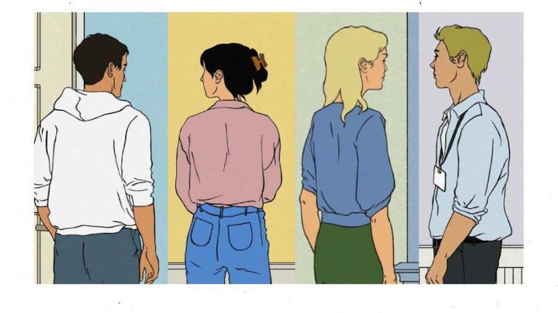 Alice, Felix, Eileen y Simon, los cuatro protagonistas de la novela   Random House