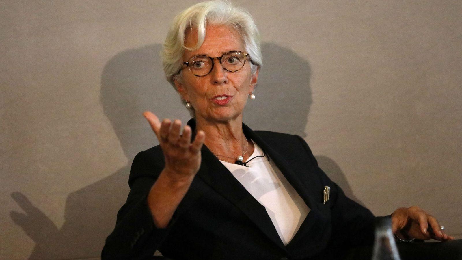 Foto: La directora del Fondo Monetario Internacional (FMI), Christine Lagarde. (Reuters)