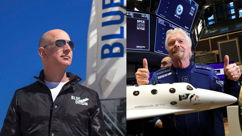 Bezos vs Branson: concurso de fantasmeo galáctico