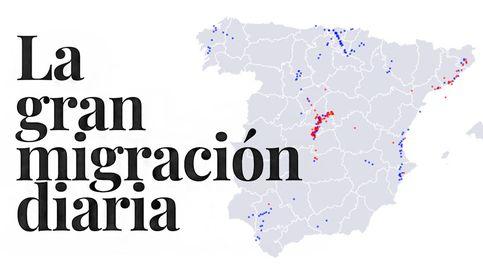 La gran migración diaria: 630.000 personas cambian de provincia para ir a trabajar