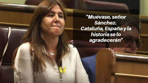 Las frases de Borràs (JxCat) en la 2ª votación: Los independentistas seguiremos aquí