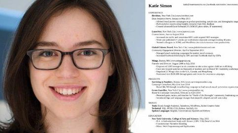 La mujer que redactó el currículo perfecto explica cuáles son sus claves