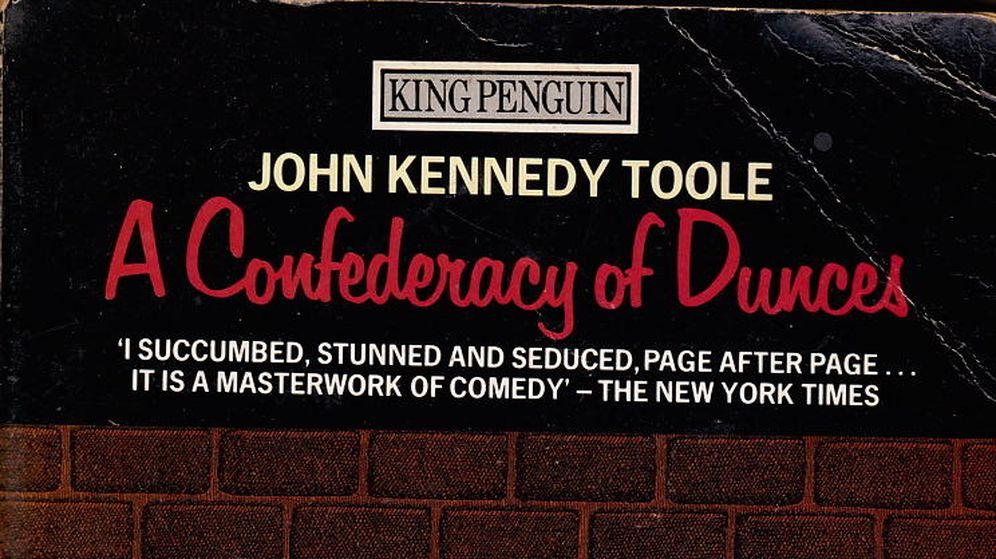 Foto: Portada original de 'La conjura de los necios', de John Kennedy Toole