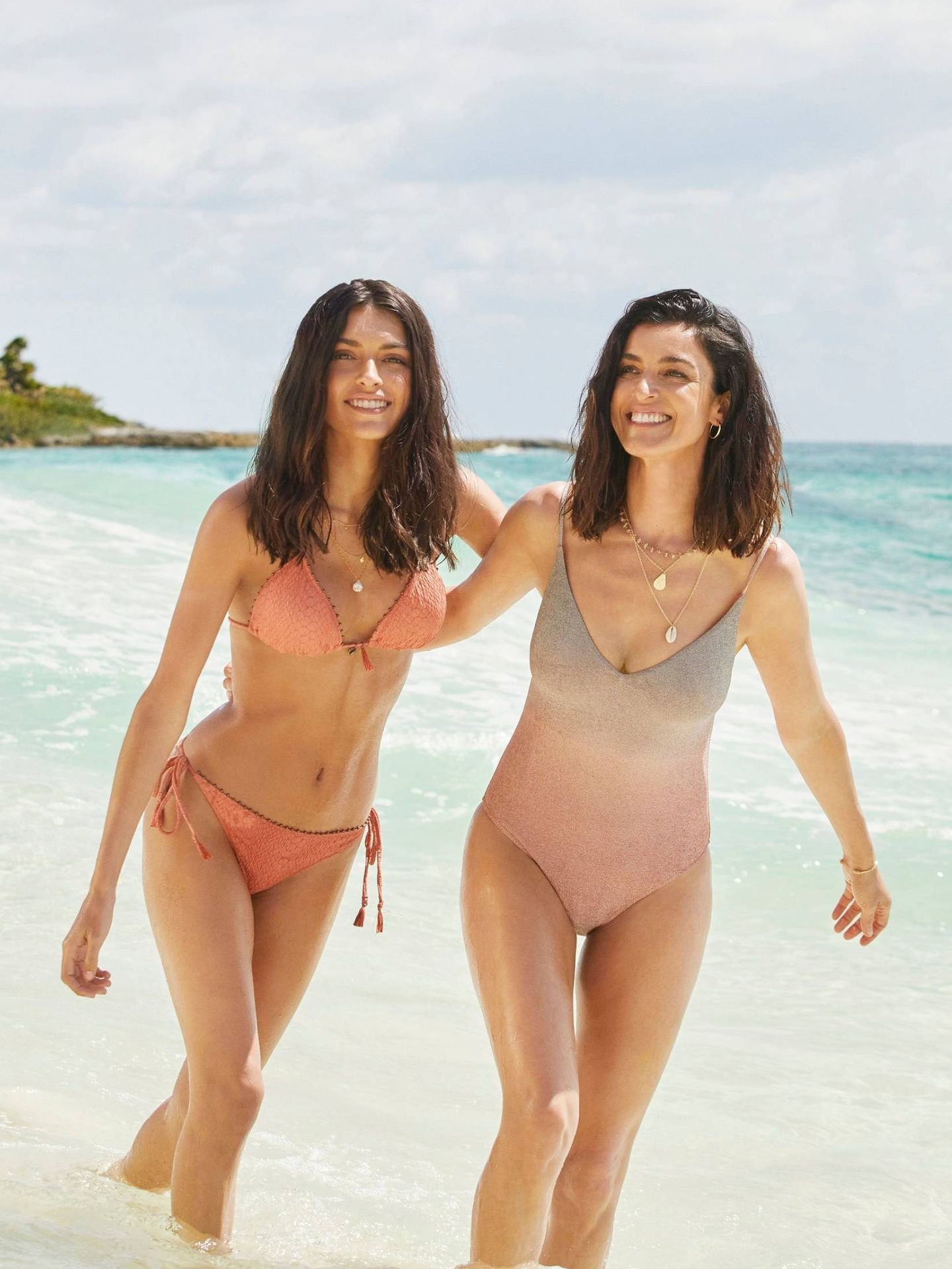 Lucía Rivero y Blanca Romero para Women'secret. (Imagen: Laia Benavides)