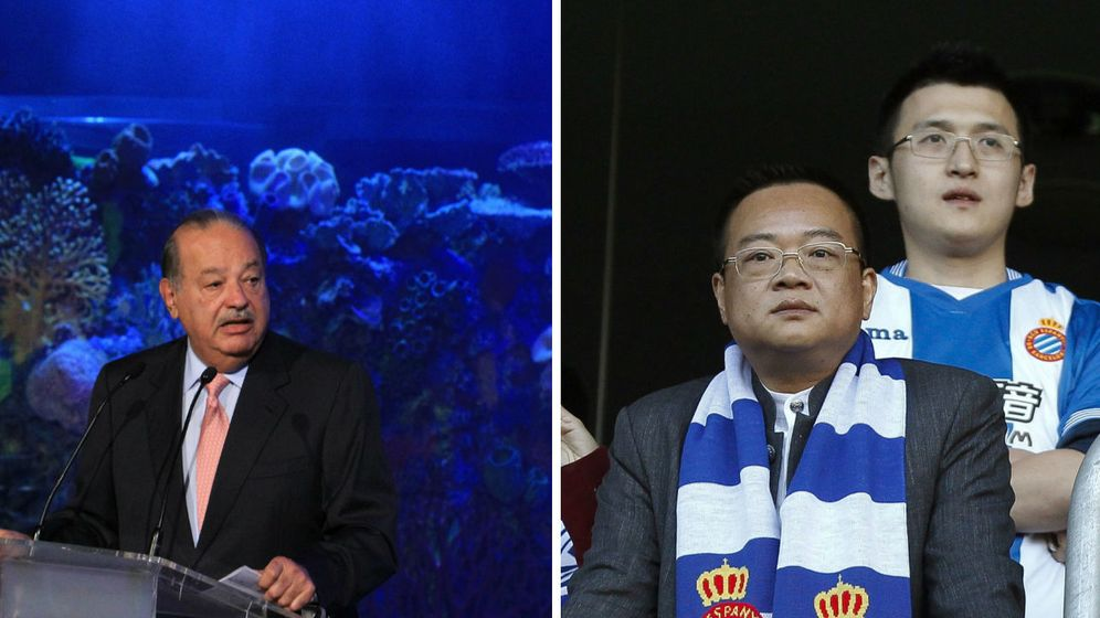 Foto: Carlos Slim (i) y Chen Yansheng (d). (Foto: EFE)