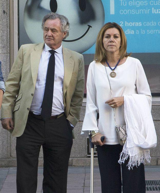 Foto: María Dolores de Cospedal e Ignacio López del Hierro. (Vanitatis)