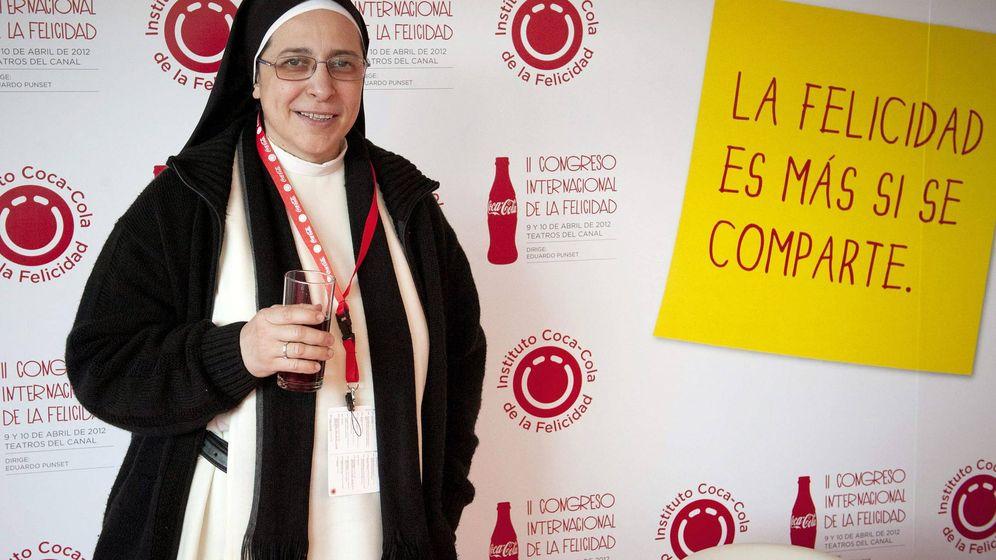 Foto: La monja sor Lucía Caram, en un acto publicitario