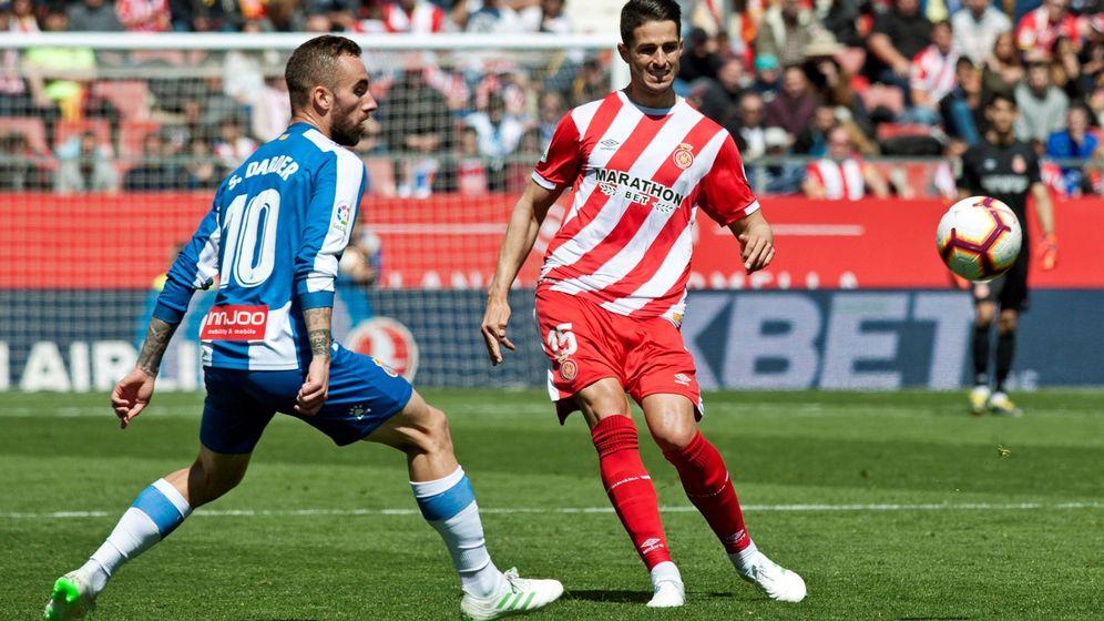 Foto: El Espanyol ganó por 1-2 al Girona en su visita a Montilivi. (EFE)
