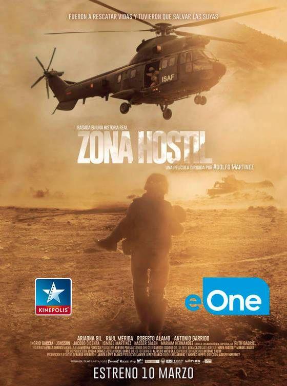 Foto: Cartel de la película Zona Hostil