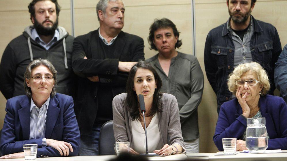 Podemos suspende de militancia a los seis concejales de Carmena