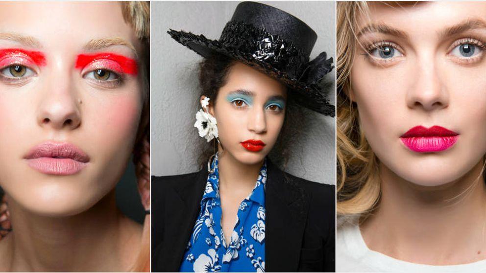 Sube la temperatura de tu maquillaje: colores eléctricos para un verano neón