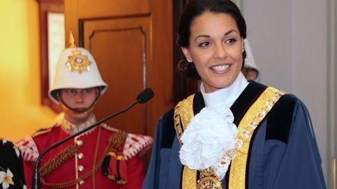 El pasado como Miss Mundo de la alcaldesa de Gibraltar eclipsa su toma de posesión