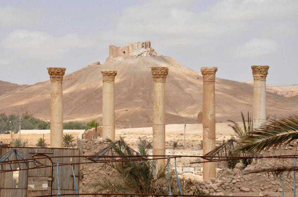 Foto: Así ha quedado la histórica ciudad de Palmira tras los bombardeos
