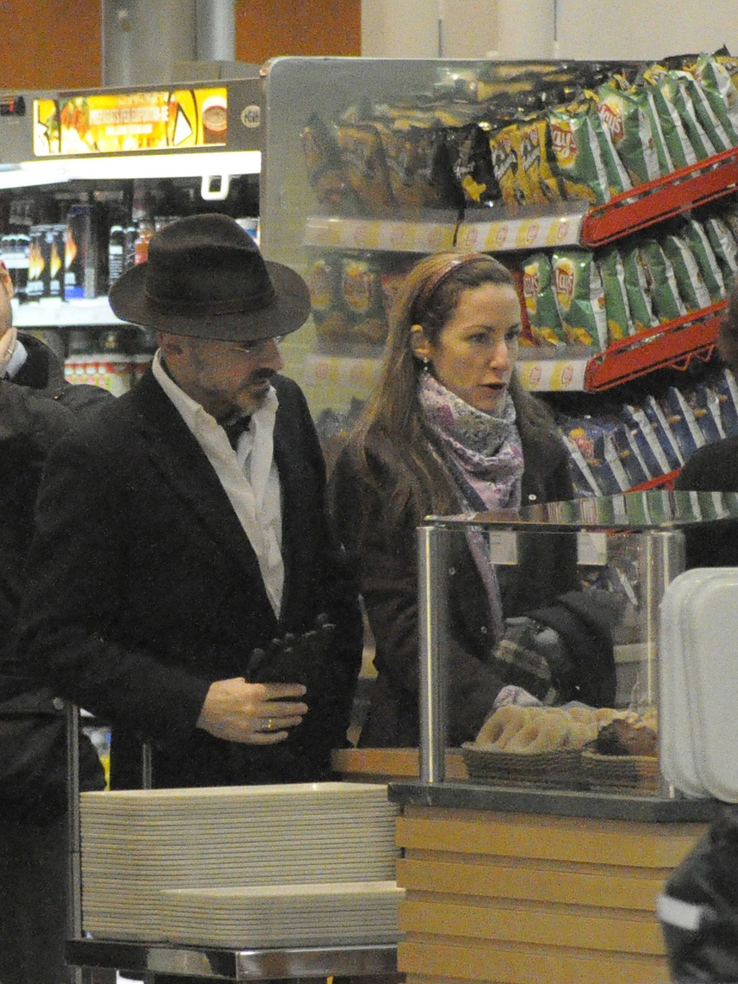 Telma Ortiz y Jaime del Burgo, en Barcelona. (Cordon Press)