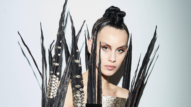 Milena Smit, en los Premios Feroz. (Cortesía de Chanel)