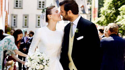 Las fotos hasta ahora nunca vistas de la boda del ex de Corinna