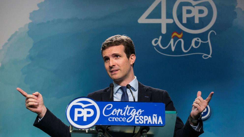 Casado, de relevo para el Ayuntamiento de Madrid a aspirar al sillón de Rajoy