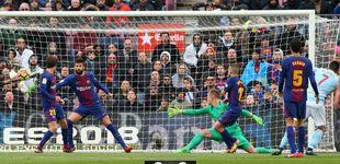 Post de El Barcelona tropieza ante el Celta en el Camp Nou y agita la Liga