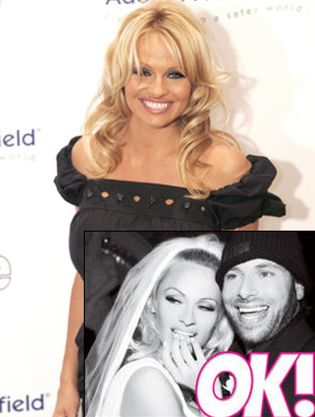 Foto: Los detalles de la boda de Pamela Anderson