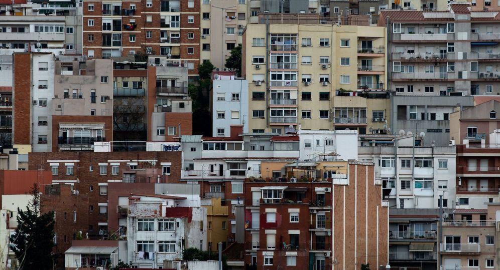 Foto: Vista del barrio de El Carmel, de Barcelona. (EFE)