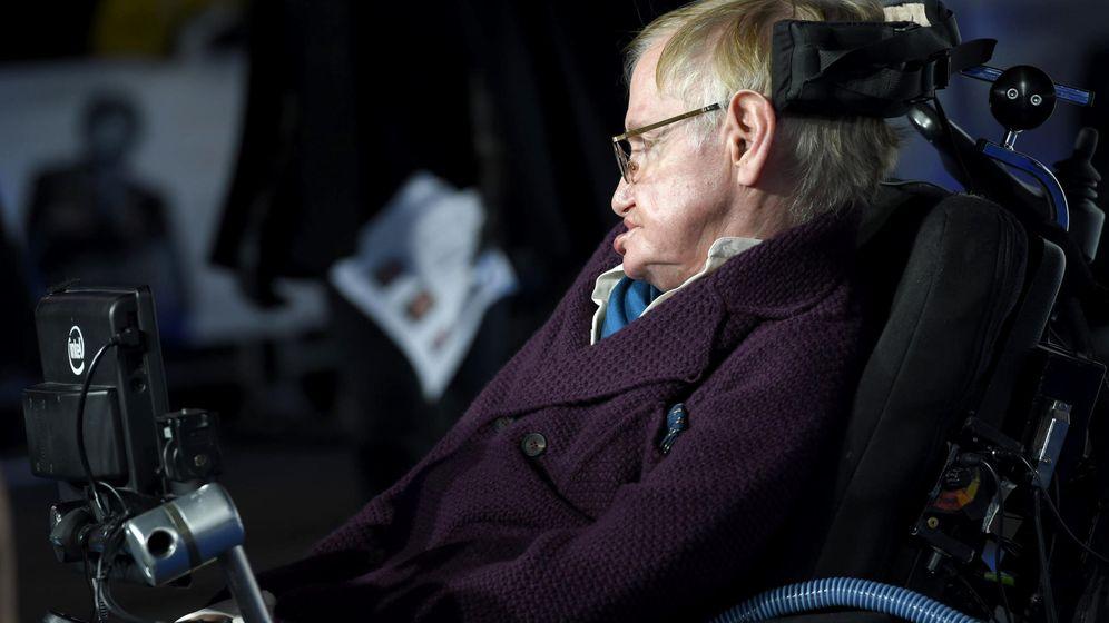 Foto: El físico británico Stephen Hawking